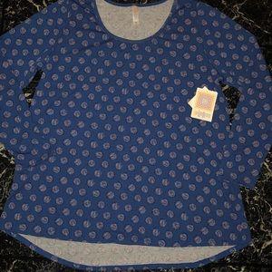 New Lularoe Lynnae Shirt 2XL